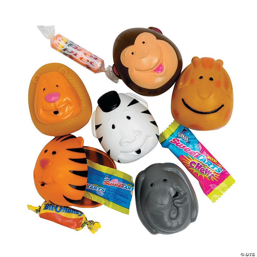 Animal Candy-Filled Plastic Easter Eggs - 12 Pc. Audio Thumbnail