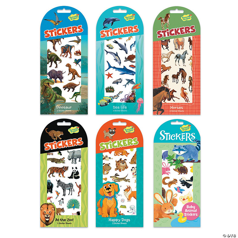 Animal Favorites Sticker Set Image Thumbnail
