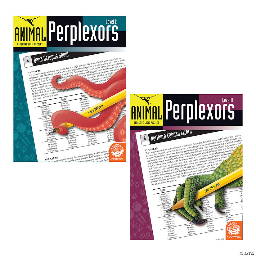 Animal Perplexors: Set of 3 Image Thumbnail