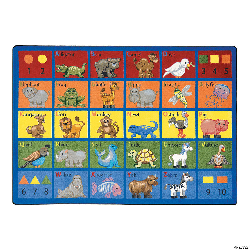 Animal Phonics® Classroom Rug