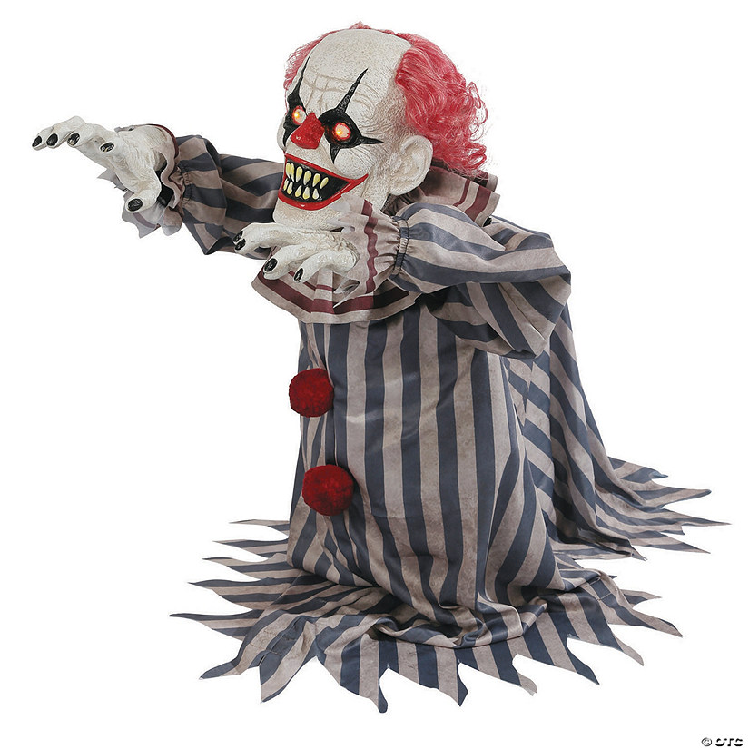 Animated Jumping Clown Halloween Decoration Image Thumbnail