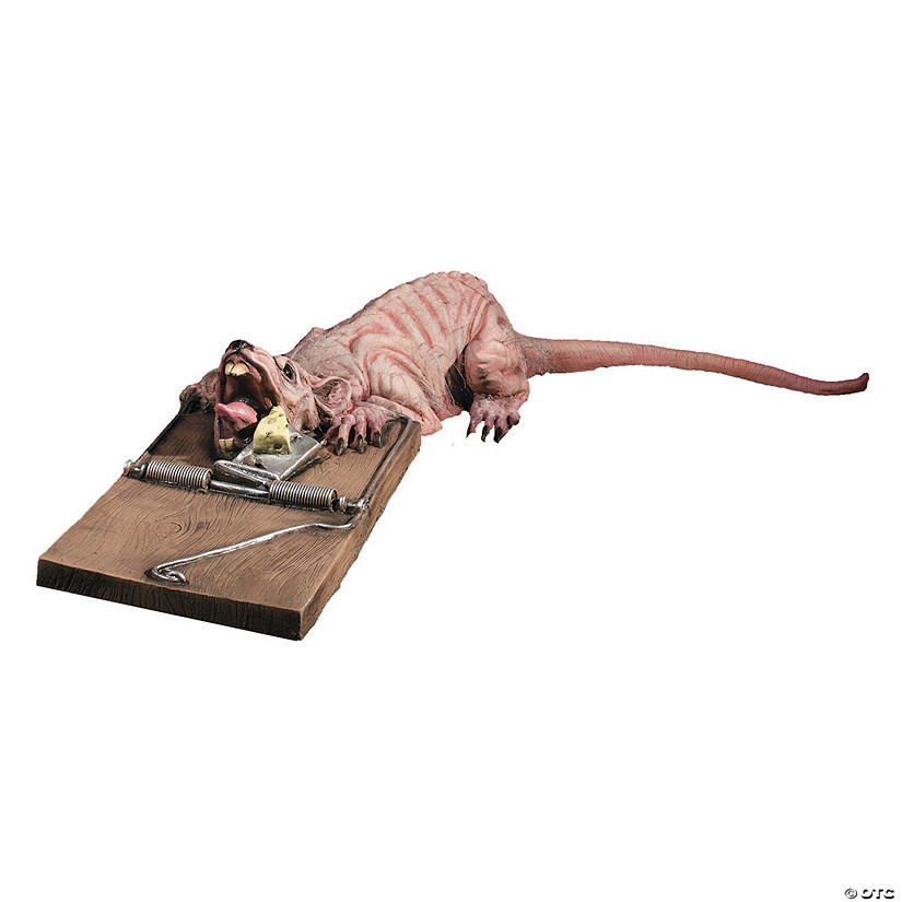 Animated Rat Trap Halloween Decoration Image Thumbnail