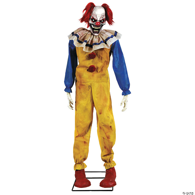 Animated Twitching Clown Halloween Decoration Audio Thumbnail