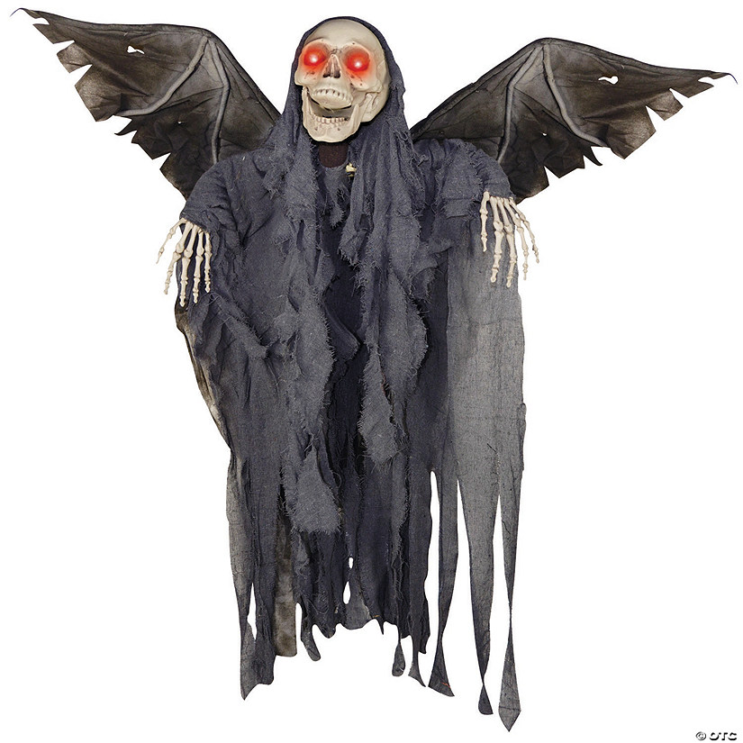 Animated Winged Reaper Halloween Decoration Image Thumbnail