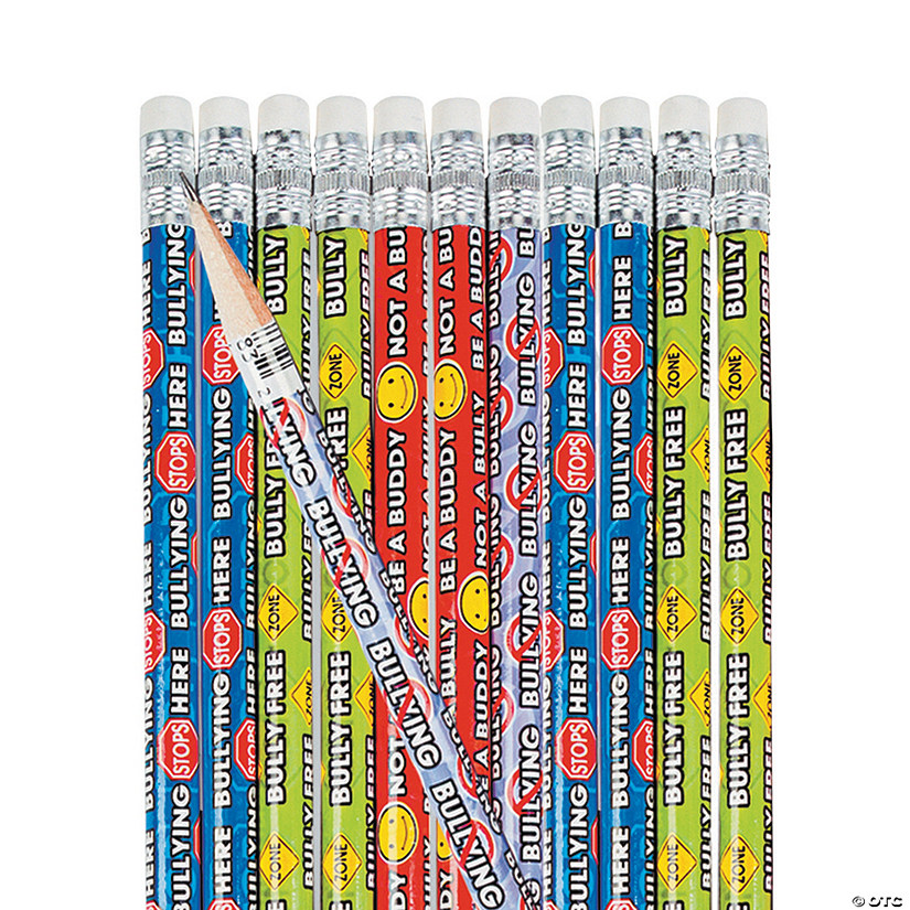 Anti-Bullying Pencils - 24 Pc. Audio Thumbnail