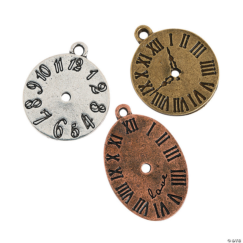 Antique Clock Charms