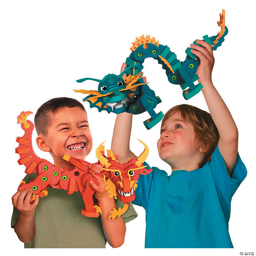 Aqua & Pyro Dragon Set Image Thumbnail
