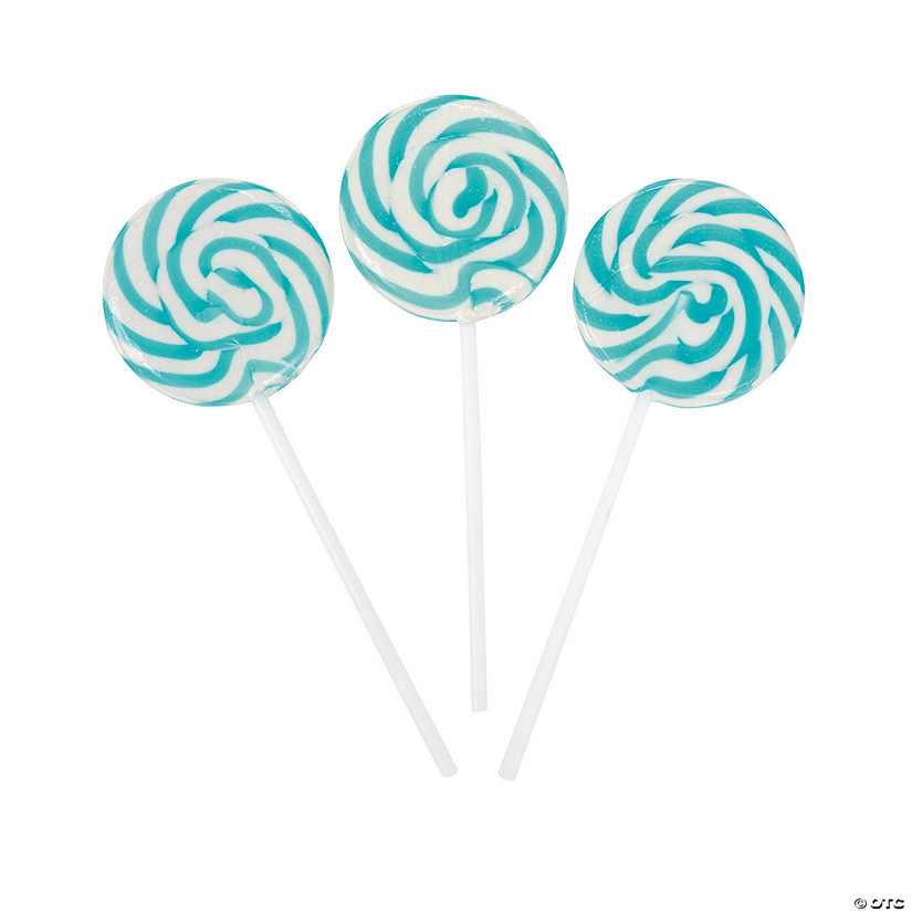 Aqua Blue Swirl Lollipops Audio Thumbnail
