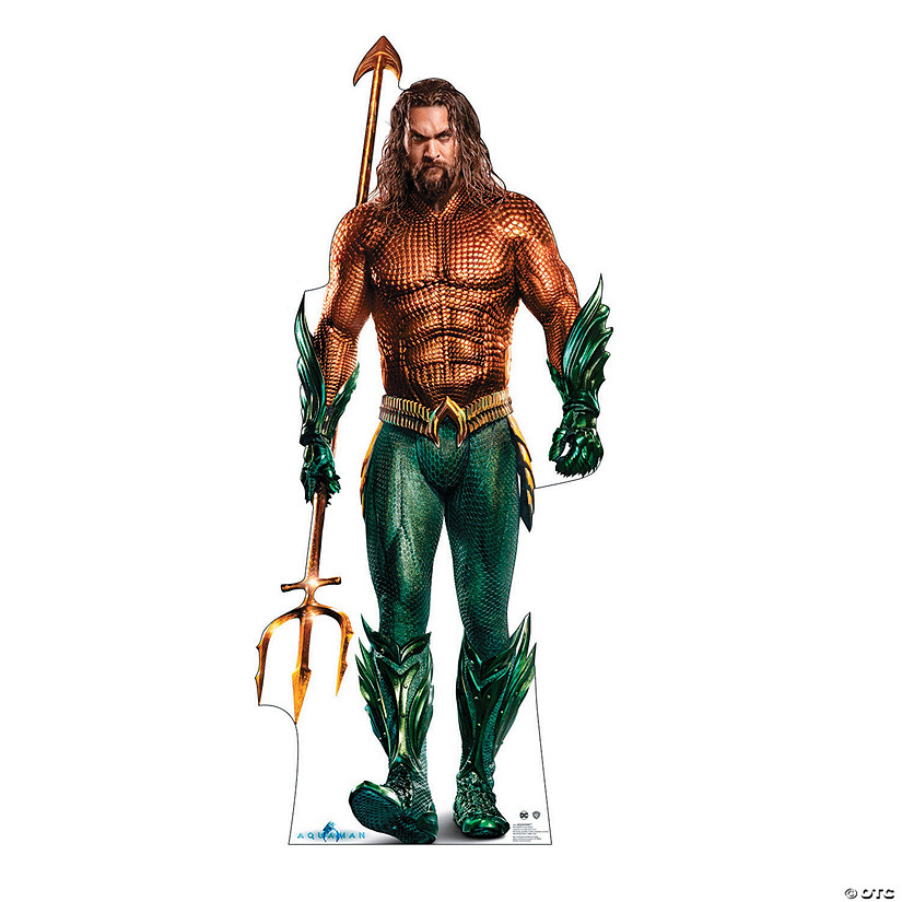 Aquaman Life-Size Cardboard Stand-Up Audio Thumbnail