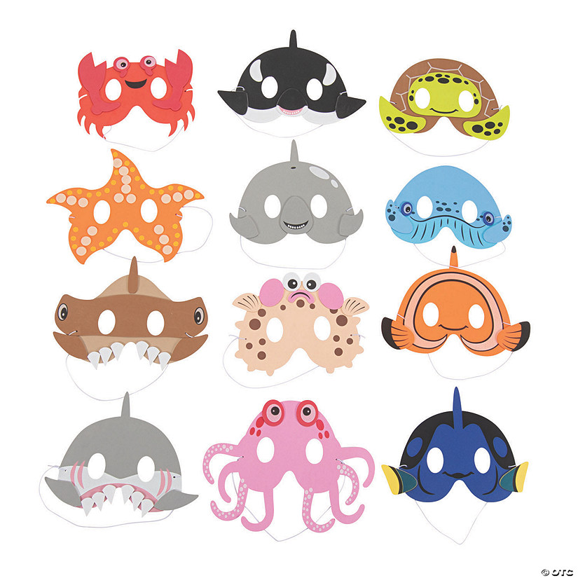 Aquatic Animal Face Masks Audio Thumbnail
