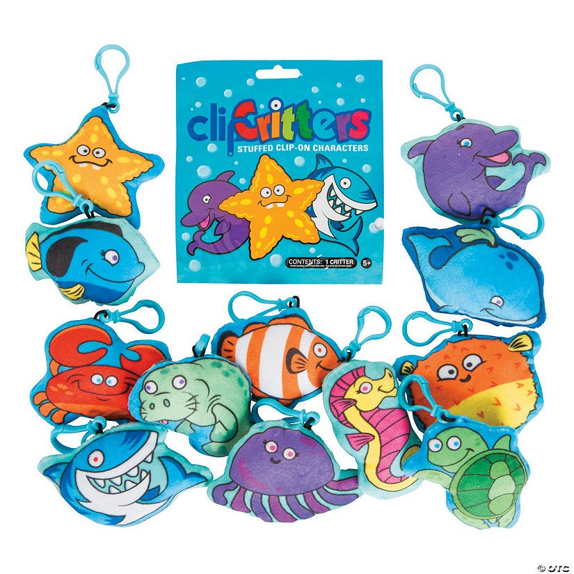 Aquatic Plush Sea Critters with Clip Blind Bags Audio Thumbnail