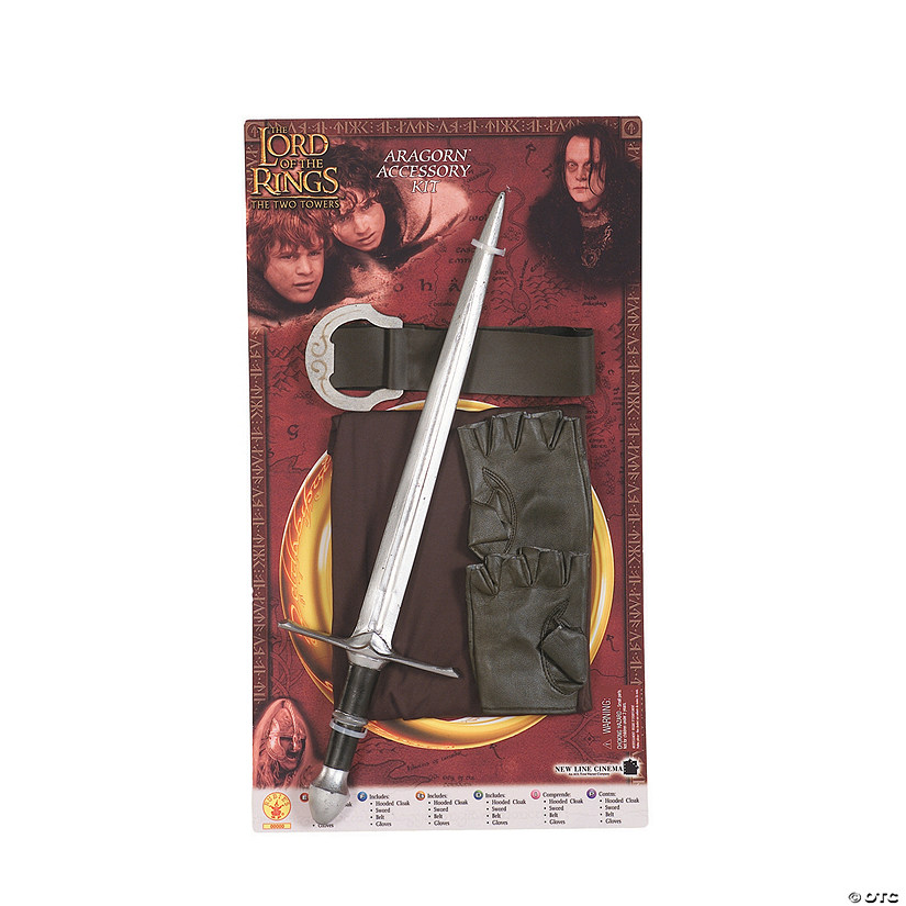 Aragorn The Lord of the Rings™ Costume Kit Audio Thumbnail