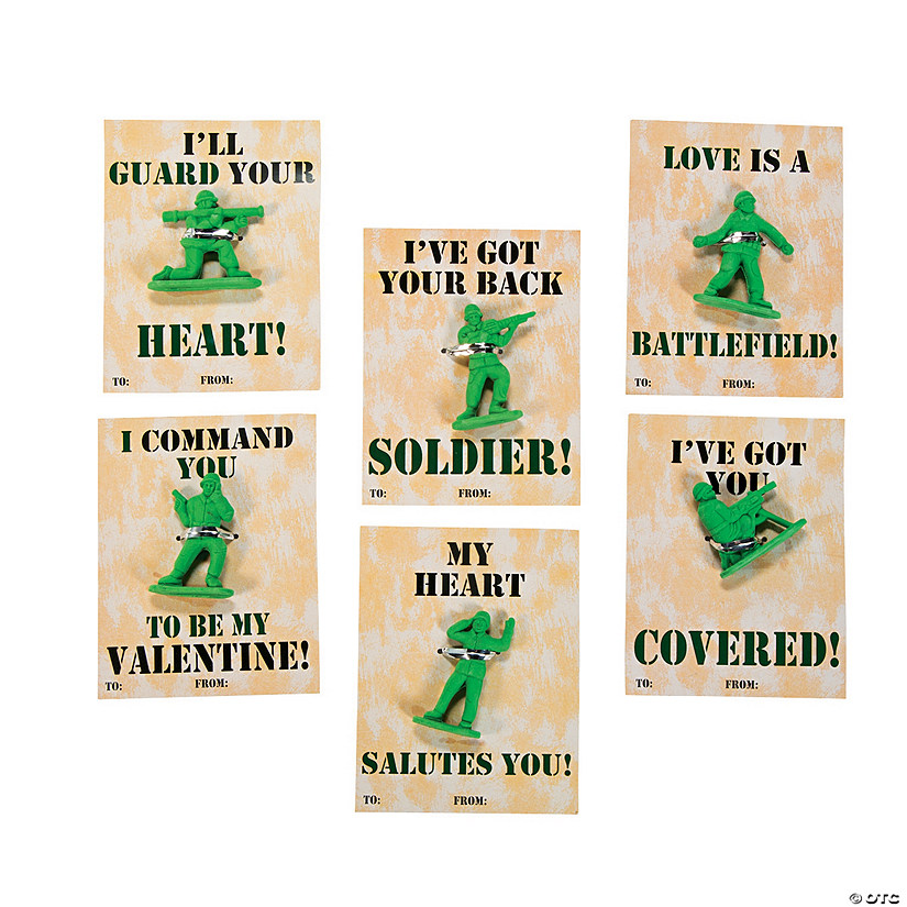 Army Guy Erasers with Valentine's Day Cards Audio Thumbnail