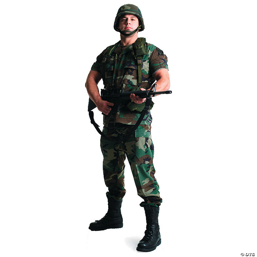 Army Soldier Cardboard Stand-Up