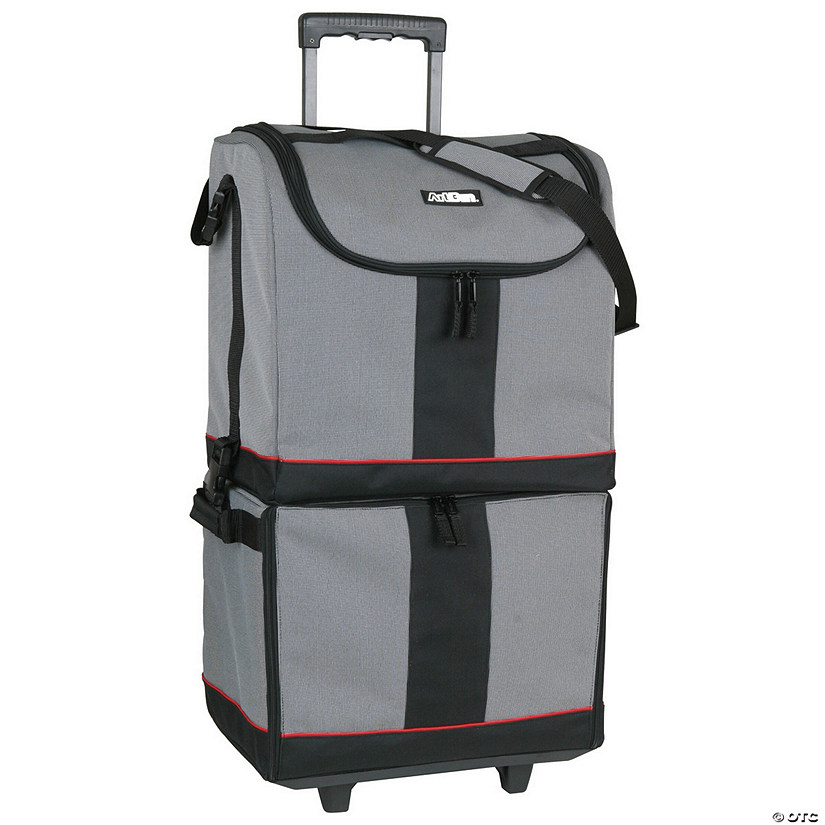 ArtBin Tote Express- Black, Gray & Red Audio Thumbnail