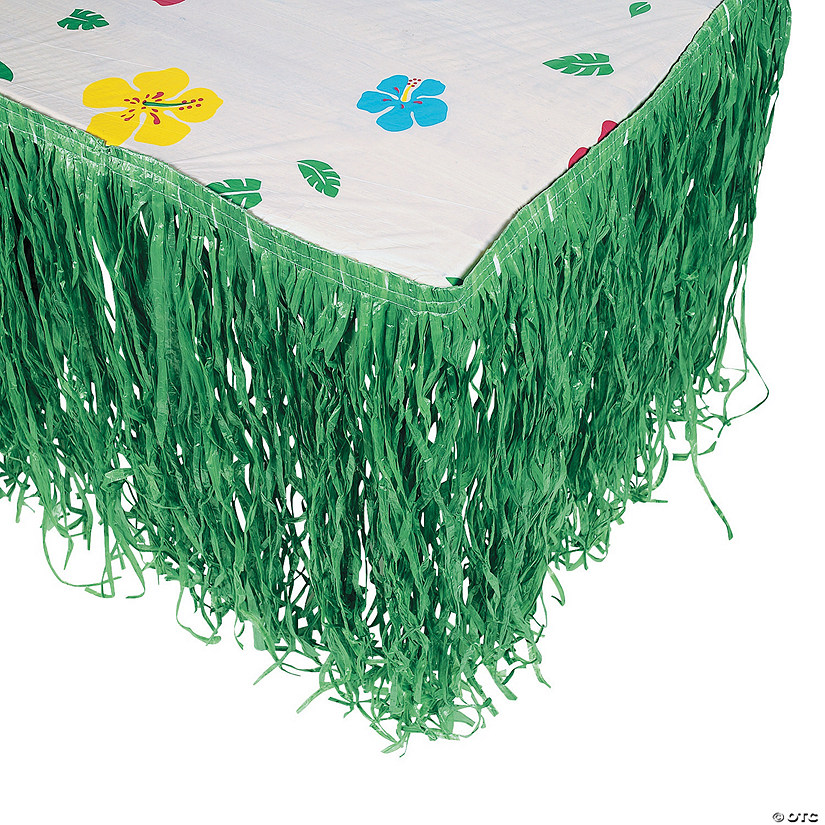 Artificial Grass Tropical Green Table Skirt Audio Thumbnail