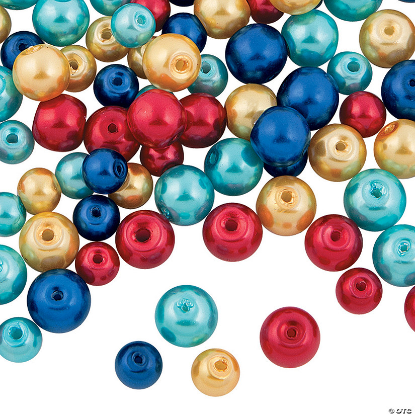 Autism Awareness Bead Assortment - 12mm