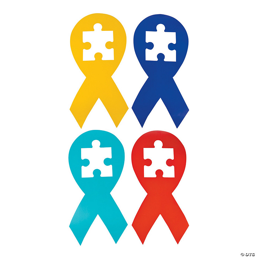 Autism Awareness Cutouts