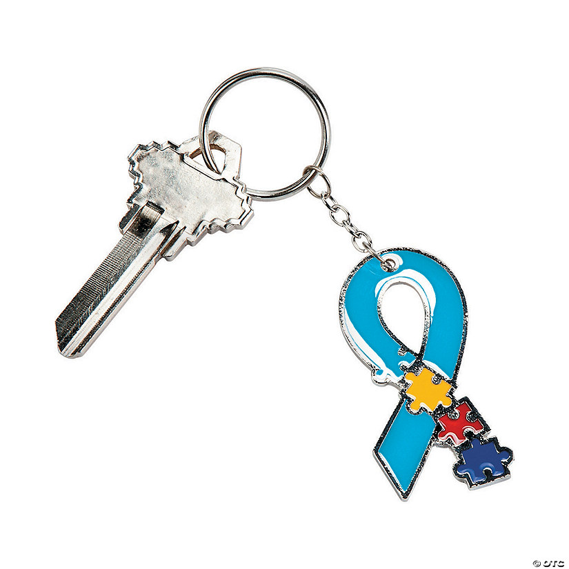 Autism Awareness Key Chains Image Thumbnail