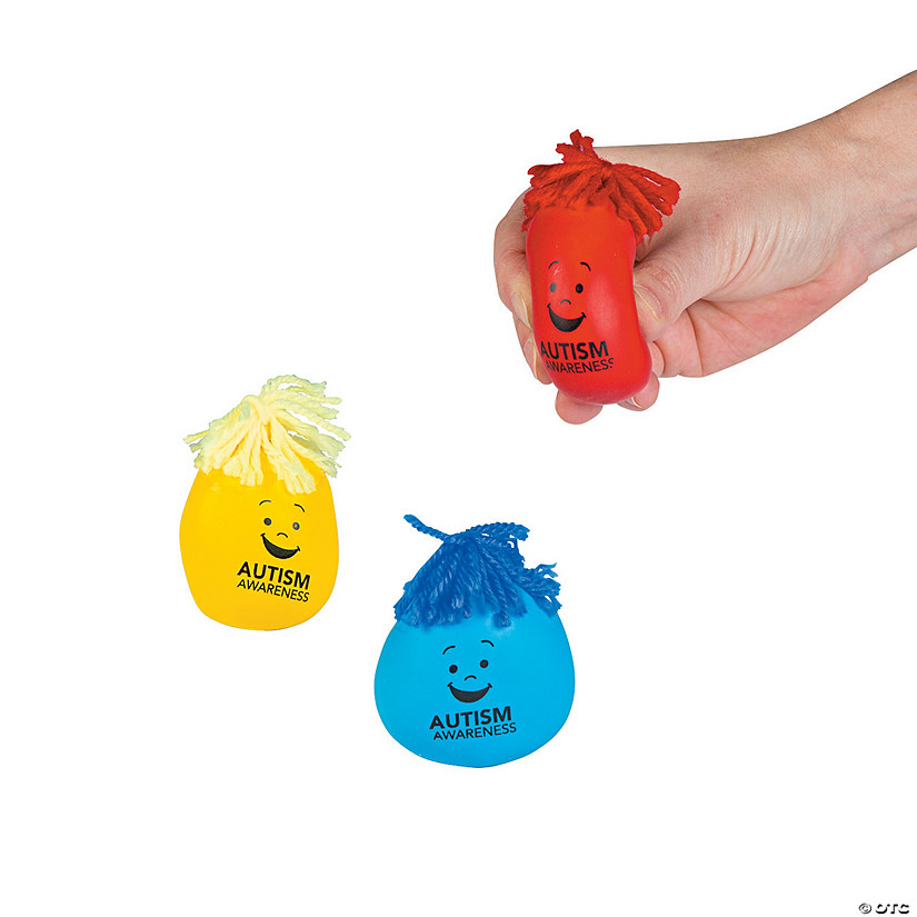 Autism Awareness Moldable Stress Balls Audio Thumbnail
