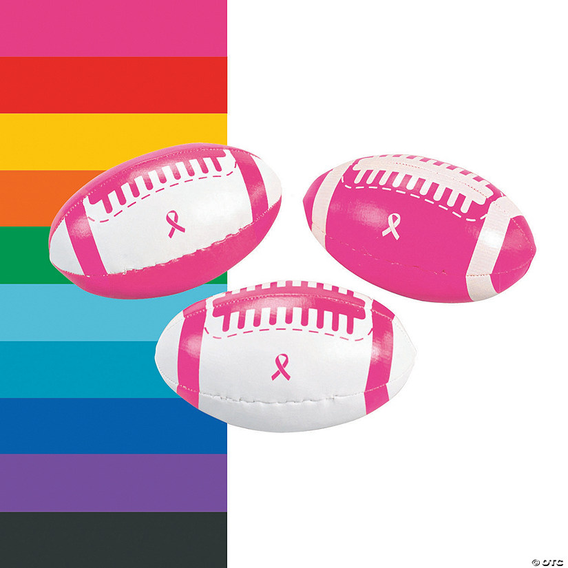 Awareness Ribbon Footballs