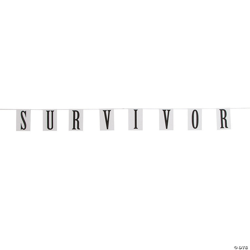Awareness Survivor Pennant Banner Audio Thumbnail