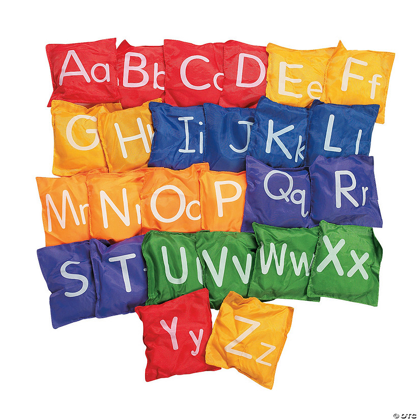 Awesome Alphabet Bean Bags Image Thumbnail