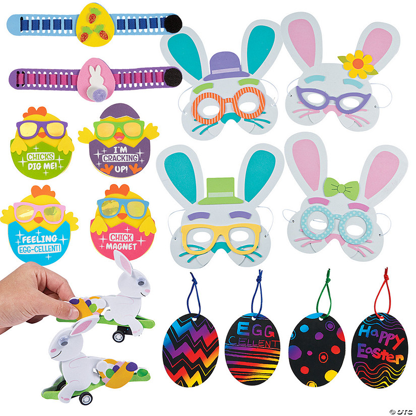 Awesome Easter Craft Assortment Image Thumbnail