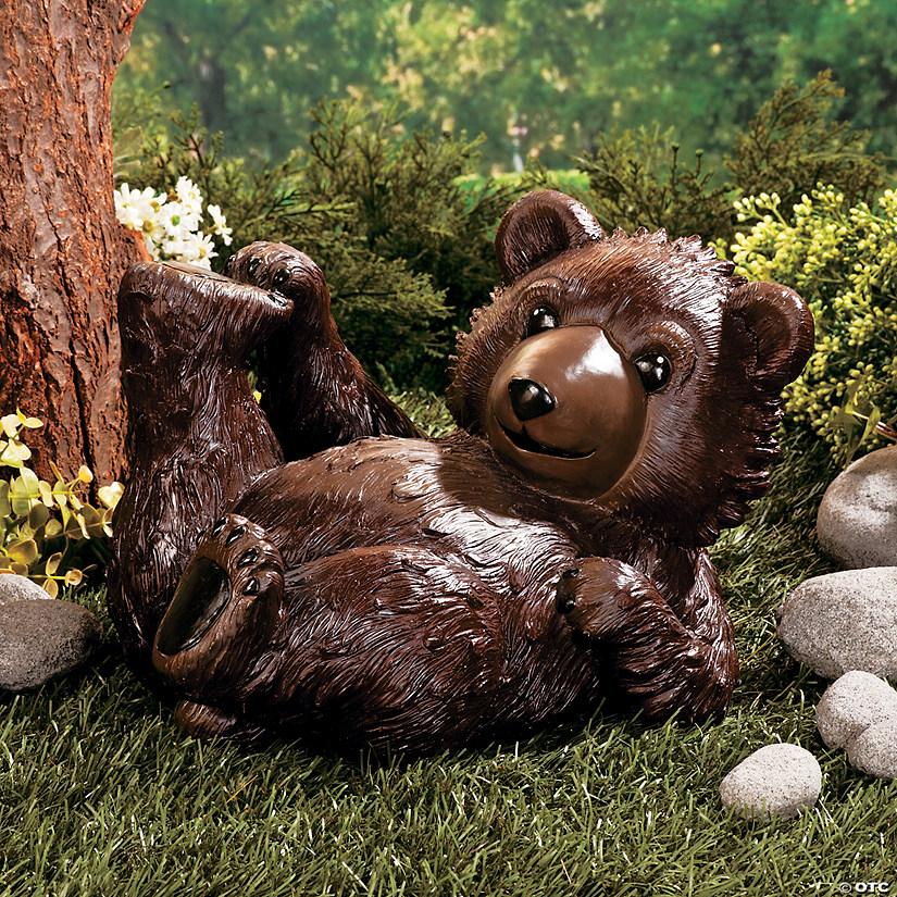 Baby Bear Garden Statue