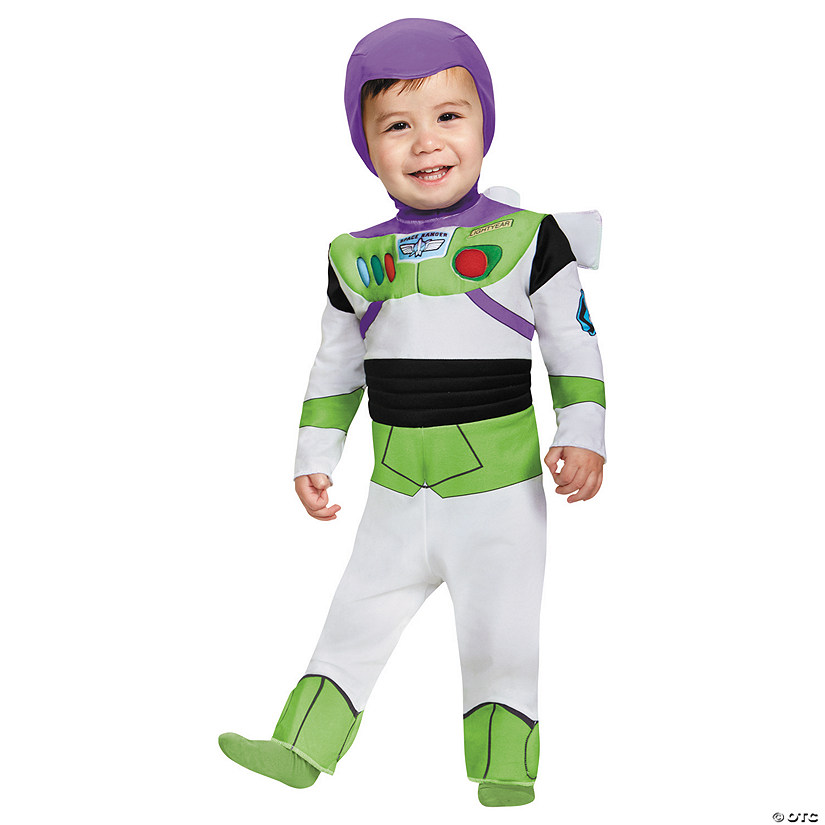 Baby Boy's Deluxe Toy Story™ Buzz Lightyear Costume - 12-18 Months Audio Thumbnail