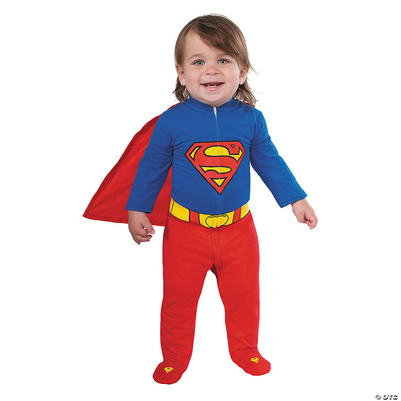 Baby Boy's Superman™ Romper Costume