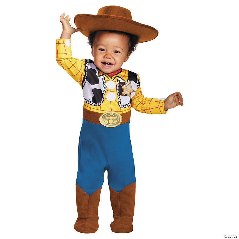 Baby Deluxe Toy Story™ Woody Costume - 12-18 Months Audio Thumbnail