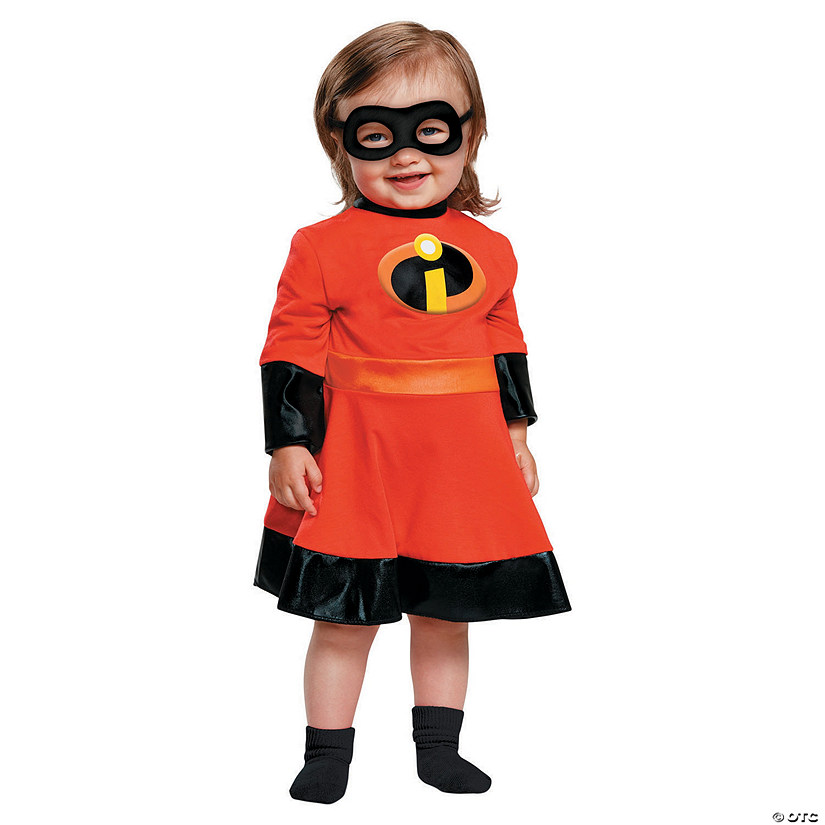 Baby Girl's The Incredibles™ Violet Costume Dress - 12-18 Mo. Audio Thumbnail