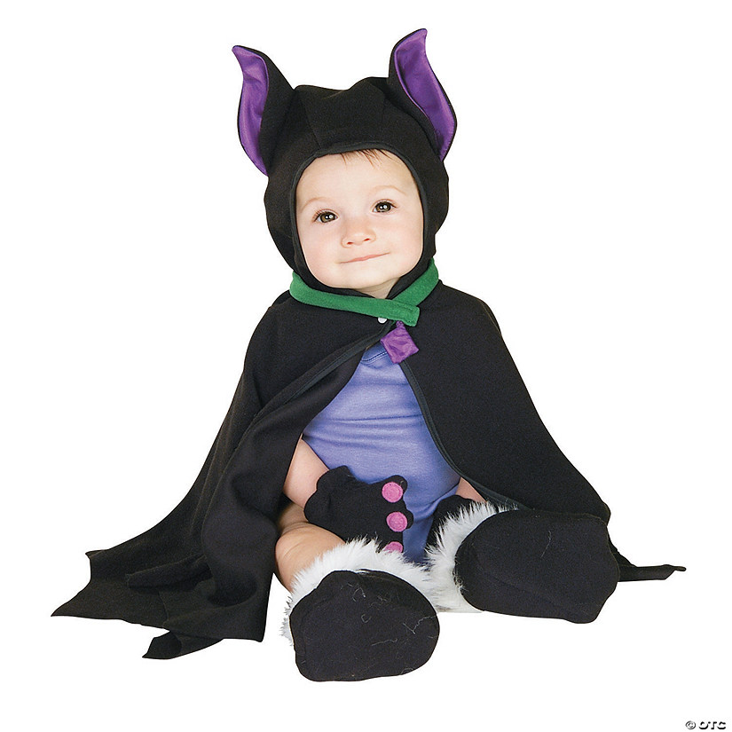 Baby Lil Bat Caped Costume - 3-12 Months Audio Thumbnail