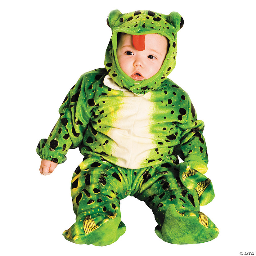 Baby Plush Green Frog Costume - 6-12 Months
