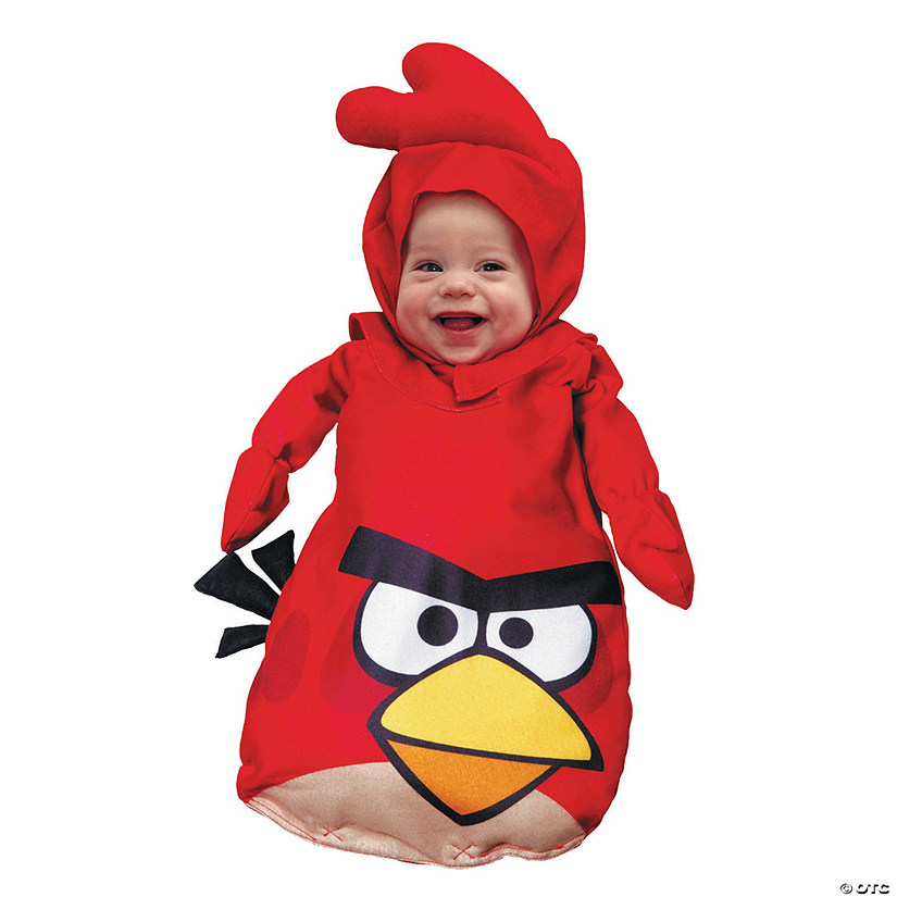 Baby Red Angry Birds™ Costume - 0-9 Months Audio Thumbnail