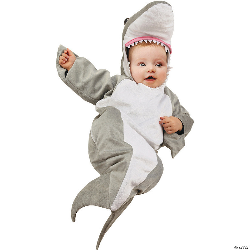 Baby Shark Bunting Costume - 0-6 Months Audio Thumbnail