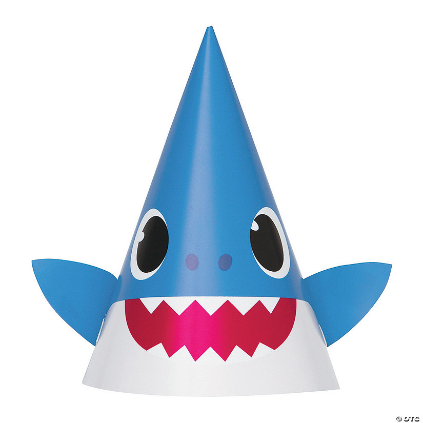 Baby Shark Cone Party Hats Audio Thumbnail