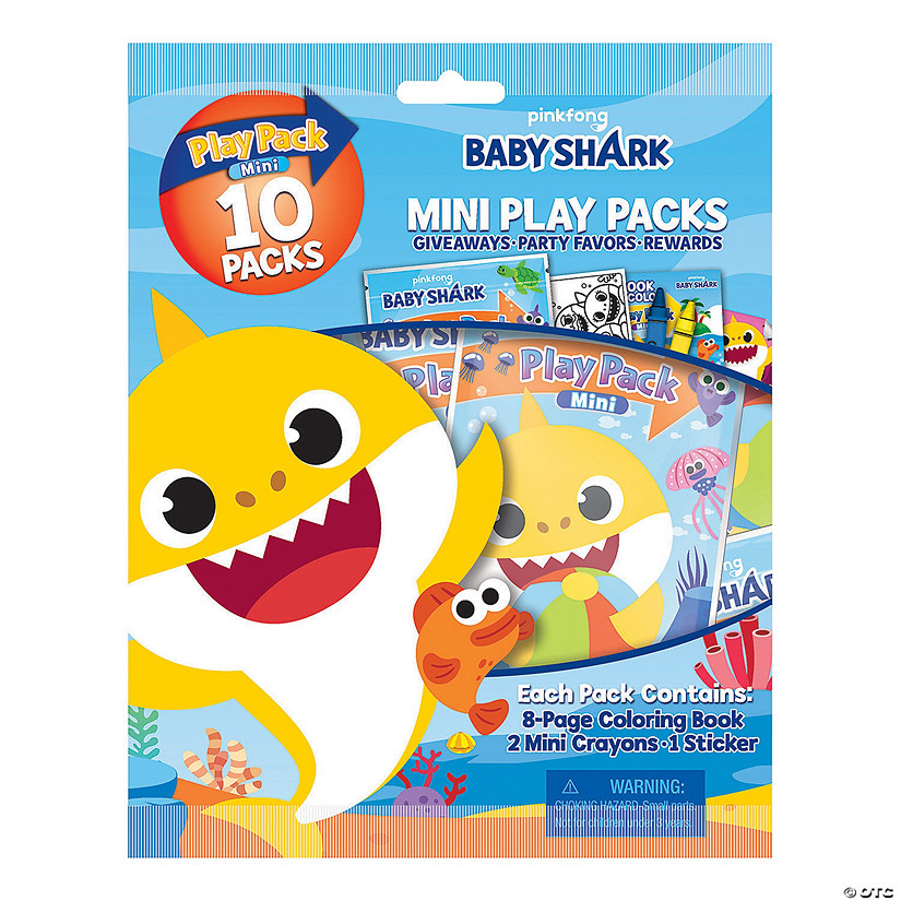 Baby Shark Stationery Play Packs Image Thumbnail