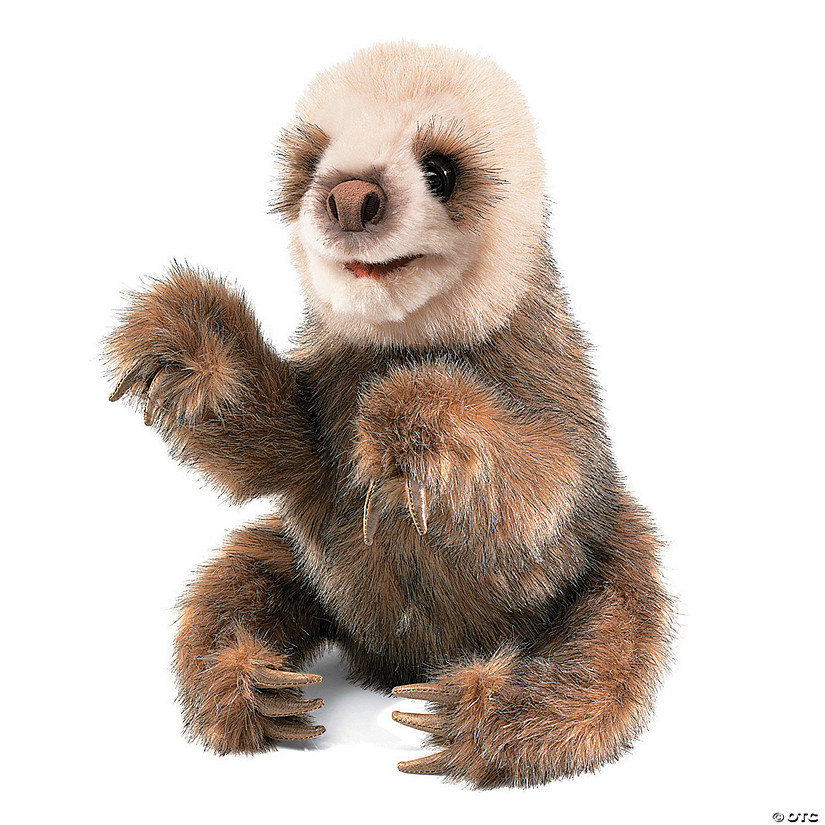 Baby Sloth Puppet Audio Thumbnail