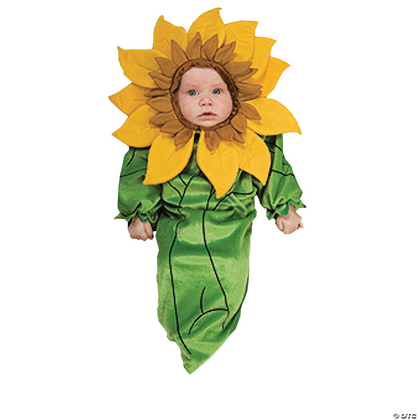 Baby Sunflower Costume - 0-6 Months Audio Thumbnail