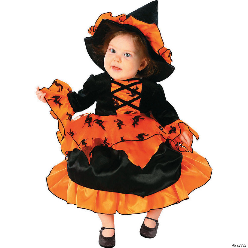 Baby/Toddler Girl's Amelia the Witch Costume Audio Thumbnail