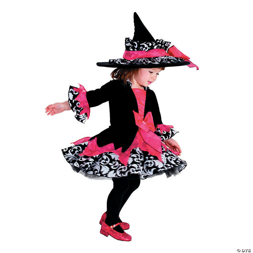 Baby/Toddler Girl's Janie the Witch Costume Audio Thumbnail