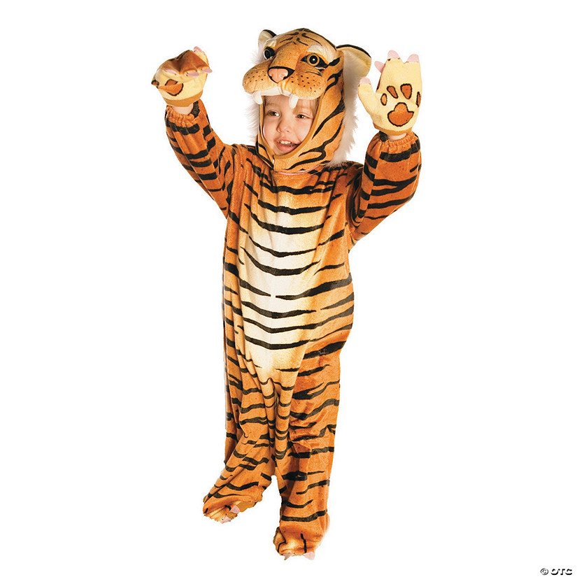 Baby/Toddler Plush Tiger Costume Audio Thumbnail