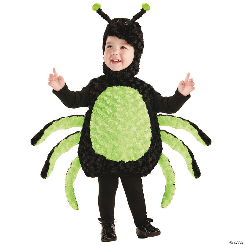 Baby/Toddler Spider Halloween Costume Audio Thumbnail