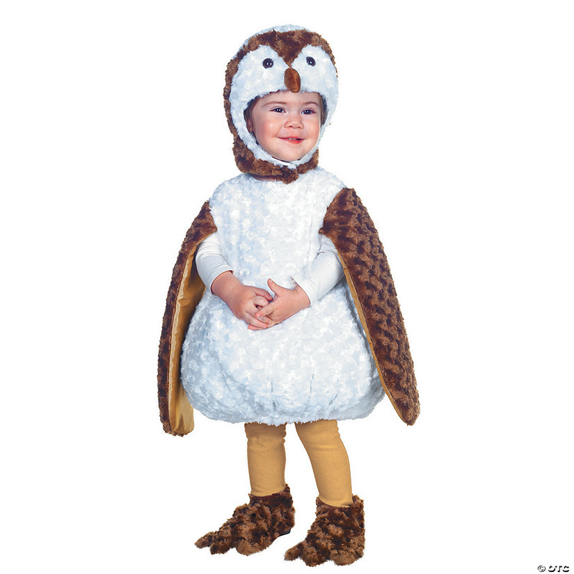 Baby/Toddler White Barn Owl Costume Audio Thumbnail