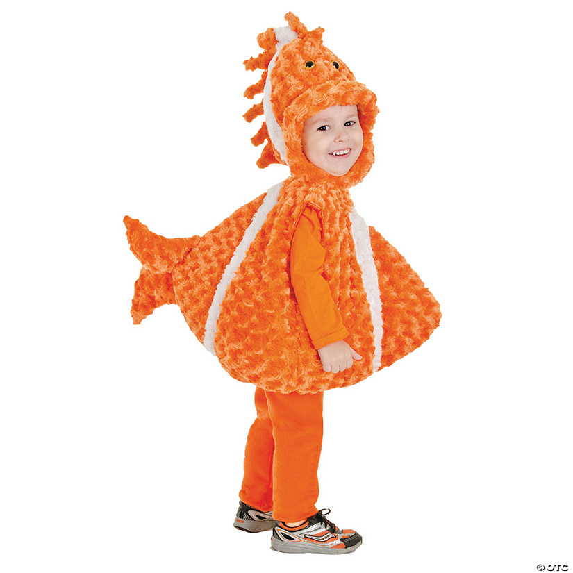 Baby/Toddler Big Mouth Clownfish Costume Audio Thumbnail