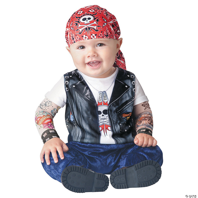 Baby/Toddler Born to Be Wild Costume