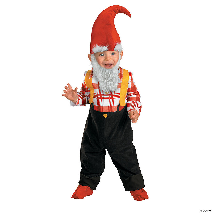 Baby/Toddler Boy's Garden Gnome Costume