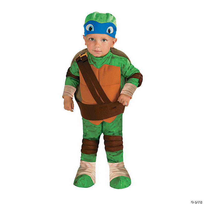 Baby/Toddler Boy's Teenage Mutant Ninja Turtles™ Leonardo Costume Audio Thumbnail